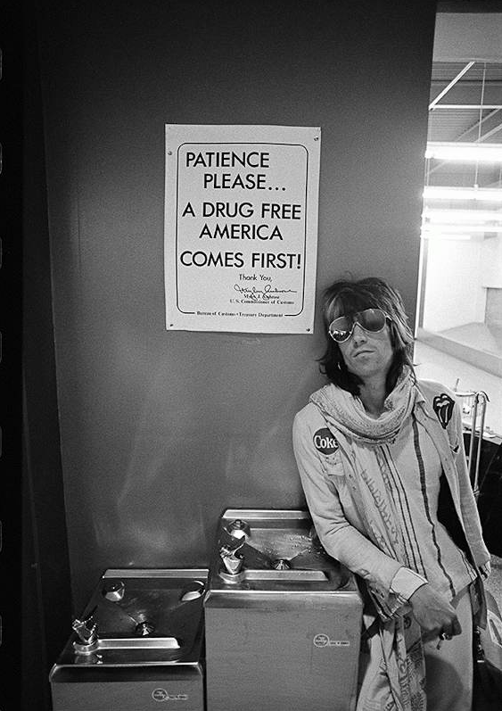 "Kieth Richards ""Patience Please"" bu Ethan Russel"
